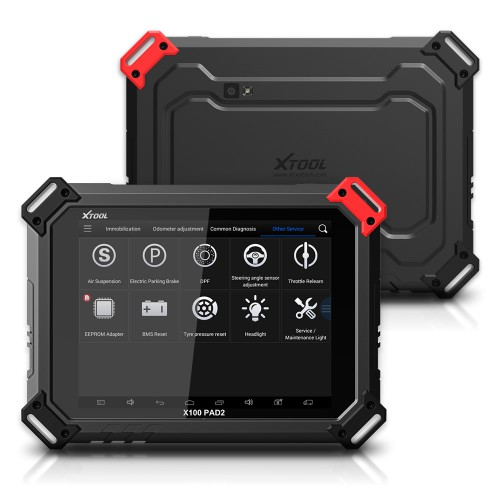 (US/UK Ship No Tax) Genuine Xtool X-100 PAD 2 X100 PAD2 Tablet Key Programmer With Special Functions Standard Configuration