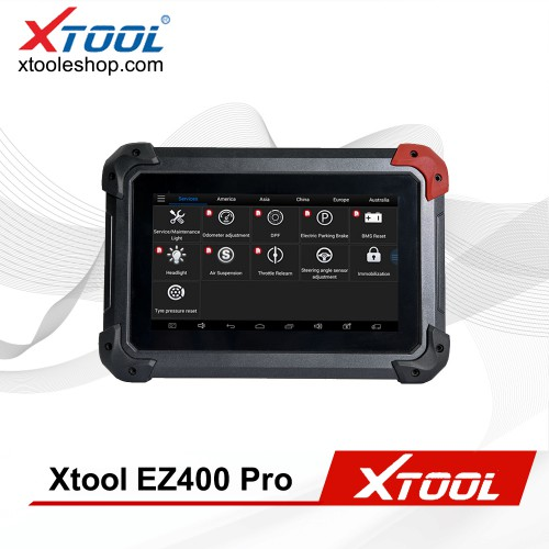 (US/UK Ship No Tax) XTOOL EZ400 PRO Diagnostic Tool +IMMO+Oil Service + EPB + TPS Free Update Online Support Malaysia Proton and Perodua