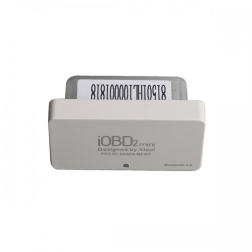 [Free Shipping] 5pcs XTOOL iOBD2 Mini OBD2 EOBD Scanner Support Bluetooth 4.0 for iOS and Android
