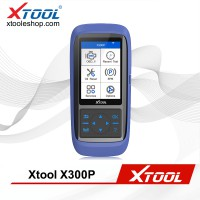 (Multi-Language) XTOOL X300P X300 P OBD2 Automotive Scanner Engine Diagnostic Tool Support Battery Reset ABS EPB TPS SRS Mileage Adjustmnet