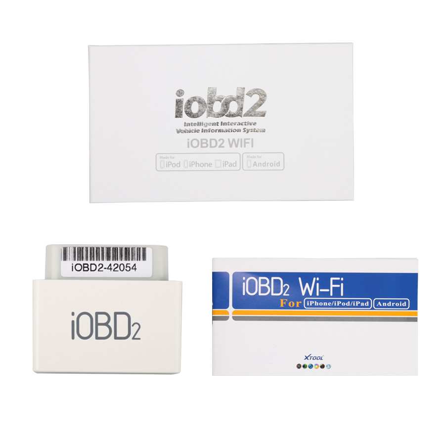 10pcs Original iOBD2 Diagnostic Tool for Iphone By WIFI Free Shipping