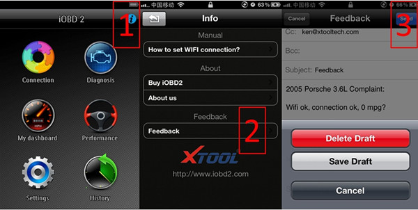 iobd2 wireless display 2