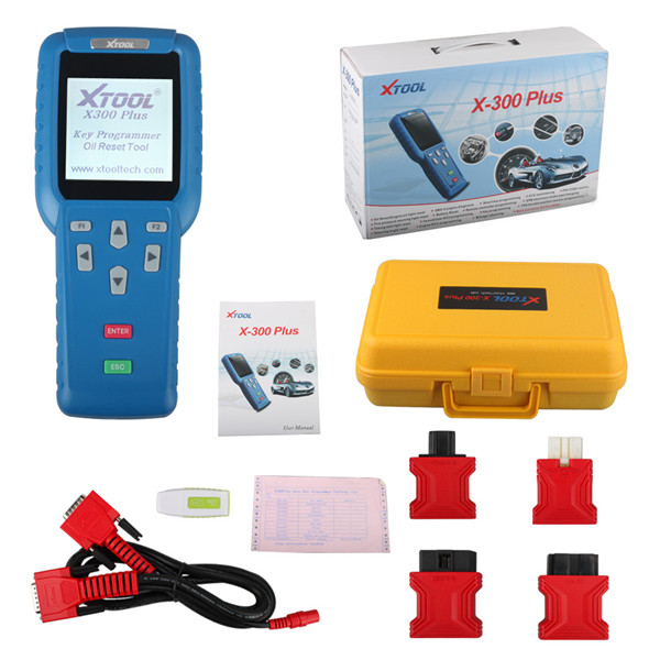[Bottom Price Sale] 100% Original XTOOL  X300+ Auto Key Programmer with Special Function Plus EEPROM Adapter