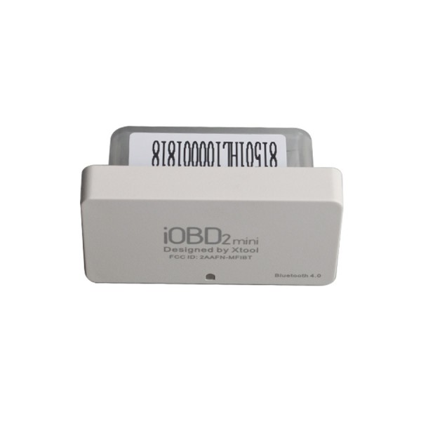 10PCS XTOOL iOBD2 Mini OBD2 EOBD Scanner Support Bluetooth 4.0 for iOS and Android