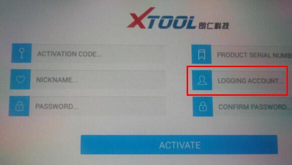 xtool x-100 pad  register