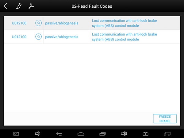 ez300 pro read fault codes