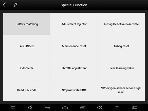 ez400 pro special function