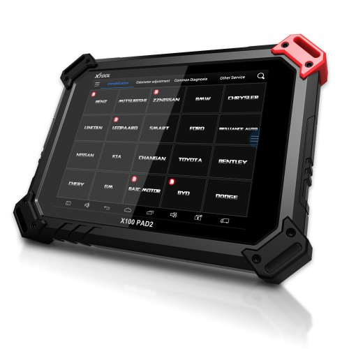 Genuine XTOOL X-100 PAD 2 X100 PAD2 Tablet Key Programmer With Special Functions Standard Configuration