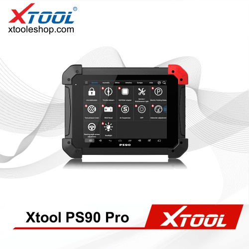 (6% Off 1597$)XTOOL PS90 Pro Gasoline Cars and Diesel Truck 2 in 1 OBDII Diagnostic Tool for Oil Reset/EPB/BMS/SAS/DPF/TPMS Relearn and IMMO