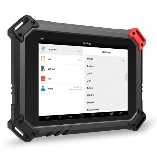 XTOOL EZ500 Full-System Diagnosis for Gasoline Vehicles with Special Function Same as XTool PS80