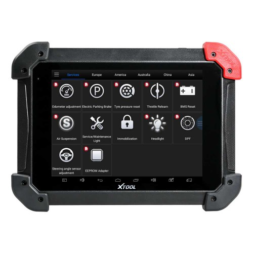 (US/UK Ship) XTool PS90 Tablet Wireless Vehicle DiagnosticTool Support TPS,Oil Resetting, EPB, TPMS, Airbag Reset,Key Programming,Mileage Correction