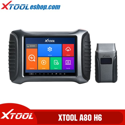 (5th Anni Sale) XTOOL A80 H6 Smart Diagnosis System Tool Car Repair Tool for Vehicle Programming/Odometer Adjustment PK H6 Elite Pro