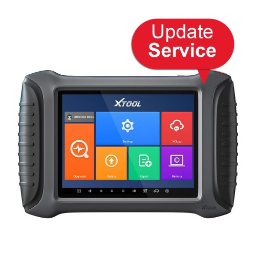 XTOOL X100 PAD3 One Year Update Service Subscription