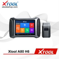 (Multi-Language) XTOOL A80 H6 Smart Diagnosis System Tool Car Repair Tool for Vehicle Programming/Odometer Adjustment PK H6 Elite Pro