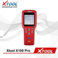 100% Original XTOOL X100 PRO Auto Key Programmer X100+ Updated Version with EEPROM Adapter SK284 Instead