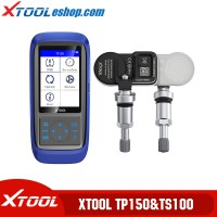 Xtool TP150 Tire Pressure Scanner Plus Xtool TS100 315/433 MHZ Tire Sensor