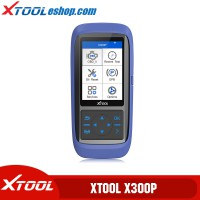 XTOOL X300P X300 P OBD2 Automotive Scanner Engine Diagnostic Tool Support Battery Reset ABS EPB TPS SRS Mileage Adjustmnet