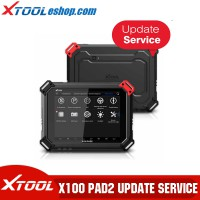 (New Year Sale) XTOOL X100 PAD2 X100 PAD2 Pro One Year Update Service Subscription