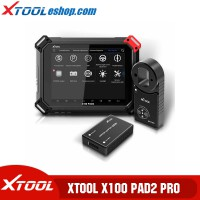 (US/UK/EU Ship No Tax) XTOOL X100 PAD2 Pro X100 PAD 2 Pro Full Configuration Key Programming Support  VW 4th & 5th IMMO with 10 Special Functions
