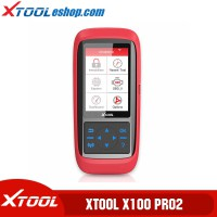 (US/UK Ship No Tax) XTOOL X100 PRO2 X100 PRO 2 Auto Key Programmer/Mileage Adjustment Including EEPROM Code Reader with Free Update