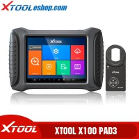 (US/UK/EU Ship No Tax) XTOOL X100 PAD3 X100 PAD 3 Elite Professional Tablet Key Programmer With KC100&EEPROM Adapter PK X100 PAD Elite
