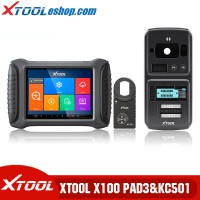 (US/UK/EU Ship No Tax) Xtool X100 PAD3 Plus Xtool KC501 Support Mercedes Infrared Keys MCU/EEPROM Chips Reading&Writing