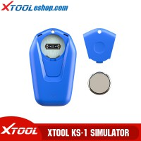 (US/UK/EU Ship No Tax) XTOOL KS-1 Blue Smart Key Emulator Support All Key Lost For Toyota/Lexua Work with X100 PAD3/PAD2 Pro/PS90