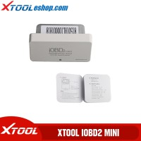 (US Ship No Tax) XTOOL iOBD2 Mini Engine Diagnosis OBD2 EOBD Scanner Support Bluetooth 4.0 for iOS and Android Free Shipping