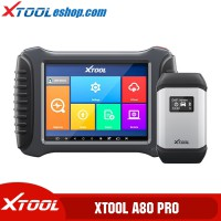 (2021 New)Xtool A80 Pro H6 Pro Master Full System Diagnosis Tool with IMMO/ECU Coding/Special Function Compatible with KC501/KS-1/KC100