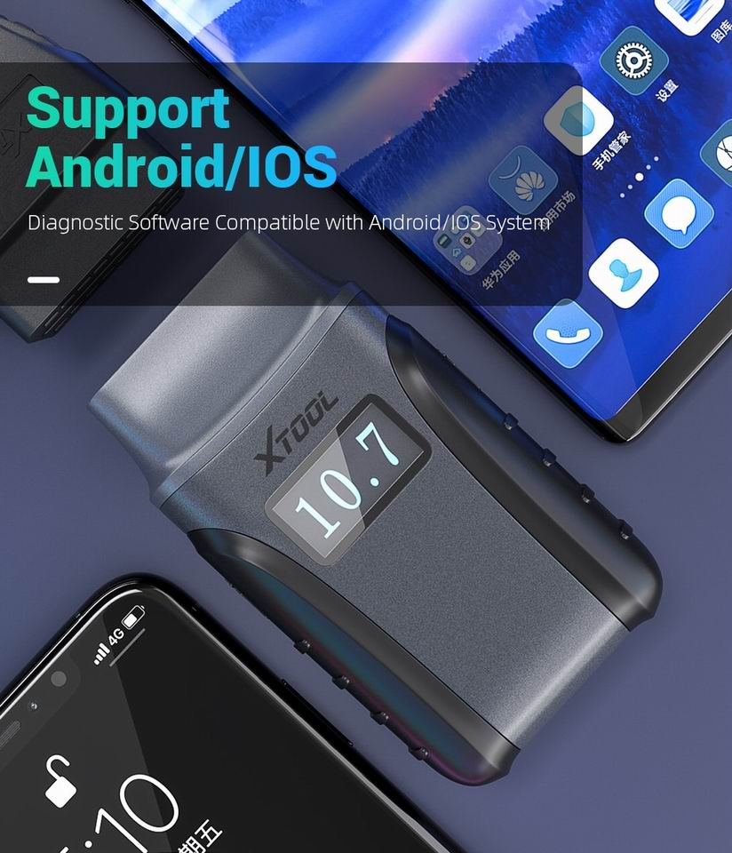 XTOOL Anyscan A30 support android/ IOS