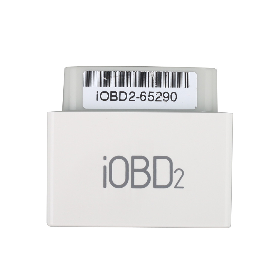 [Free Shipping] 5pcs iOBD2 Bluetooth OBD2 EOBD Auto Scanner for iPhone/Android By Bluetooth