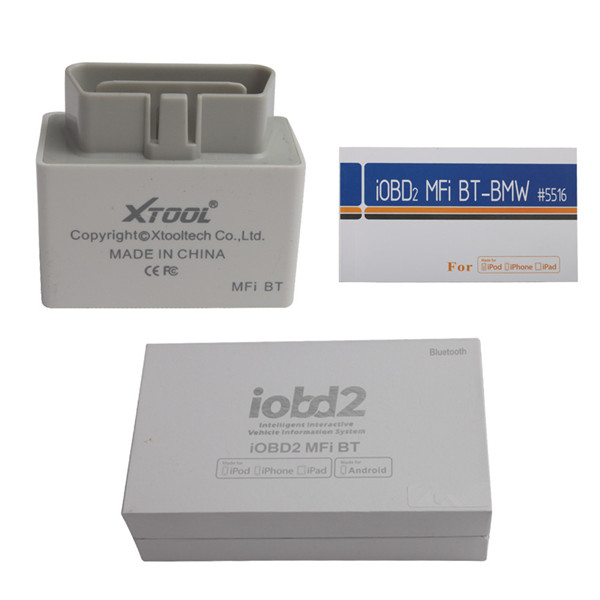 iOBD2 BMW Diagnostic Tool For iPhone/iPad With Multi-Language By Bluetooth