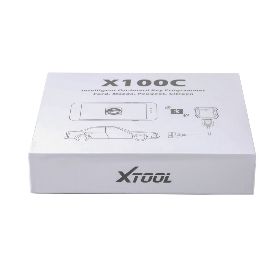 [Free Shipping] Xtool X-100 C for iOS and Android Auto Key Programmer for Ford, Mazda, Peugeot and Citroen