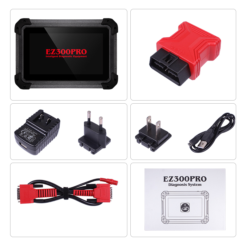(8 28 Sale) Customer Favorite XTOOL EZ300 Pro Automotive Diagnosis with 5  Systems Engine,ABS,SRS,Transmission and TPMS Free Update Online
